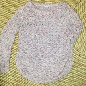 NEW YORK & COMPANY multi-color knit sweater XS